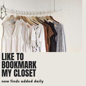 Like to Bookmark My Closet